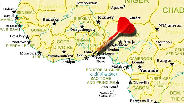 WIR SIND DANN MAL KURZ IN AFRIKA